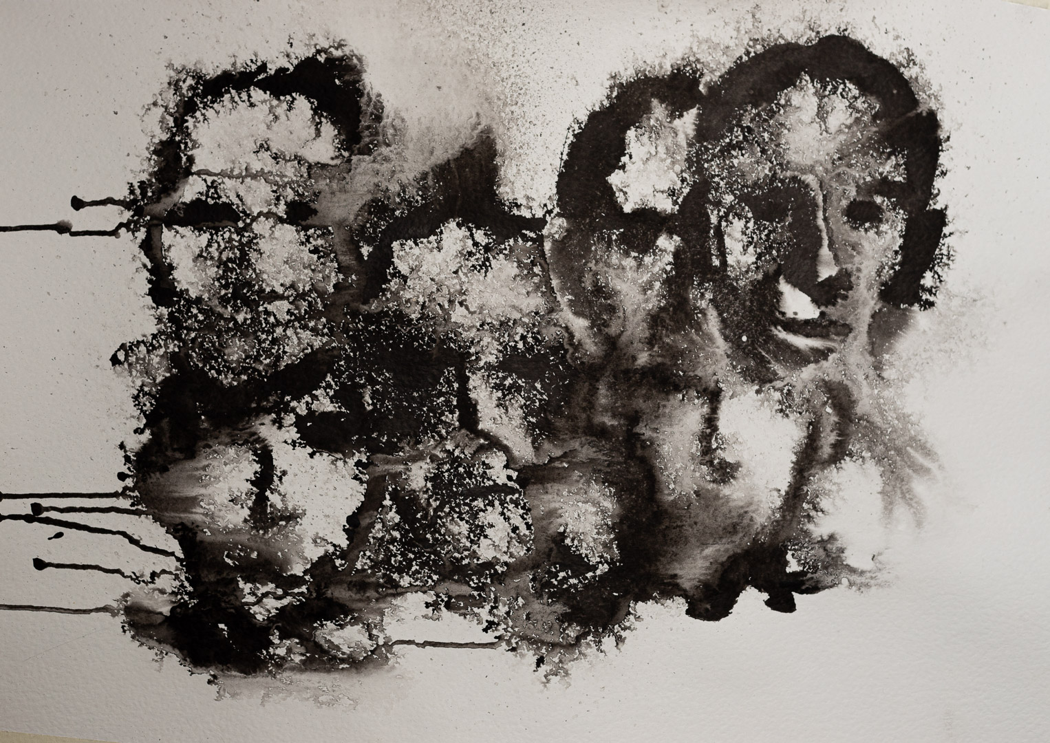 (Title Withheld) ink on paper - Niko Skorpio